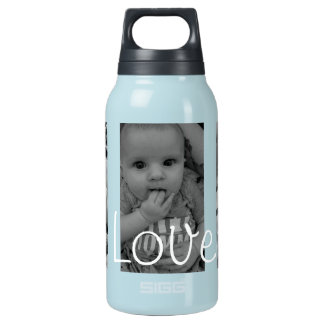 Baby Love Water Bottle, add Your Favorite Pictures Insulated Water Bottle
