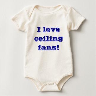 Baby Loves Ceiling Fans Romper