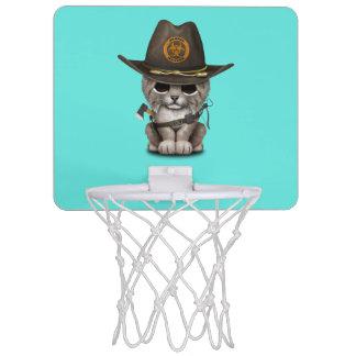 Baby Lynx Zombie Hunter Mini Basketball Hoop