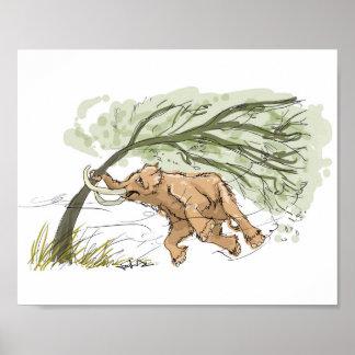 Baby Mammoth Print