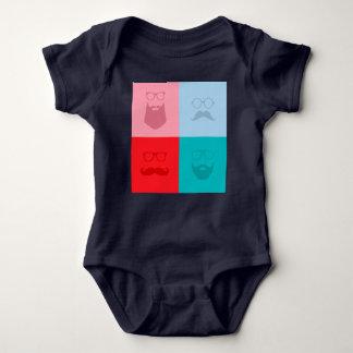baby man baby bodysuit
