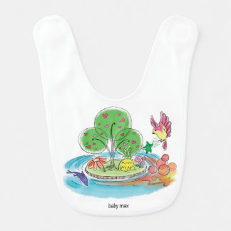'baby max' Magical Place Baby Bib