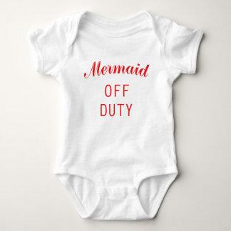 Baby Mermaid 1zee Baby Bodysuit