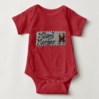 Baby Miami Merger romper Baby Bodysuit