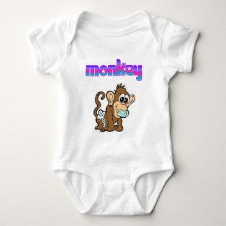 baby-monkey baby bodysuit