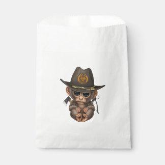 Baby Monkey Zombie Hunter Favour Bag