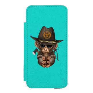 Baby Monkey Zombie Hunter Incipio Watson™ iPhone 5 Wallet Case