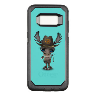 Baby Moose Zombie Hunter OtterBox Commuter Samsung Galaxy S8 Case