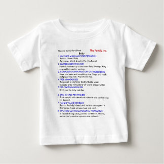 Baby MSDS T-Shirt