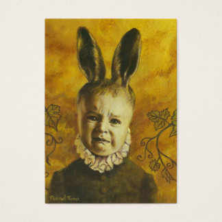 Baby Mutant Bunny ACEO Artist Trading Card