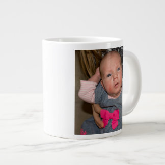 Baby Natalie in a Blue Dress Jumbo Mug