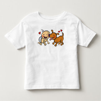Baby Nose Kisses from the Dog Toddler T-Shirt