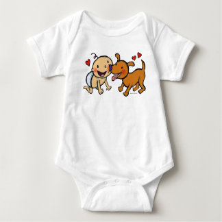 Baby Nose Kisses from the Dog Tshirt