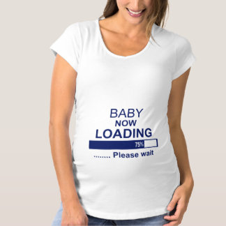 baby_now_loading maternity T-Shirt