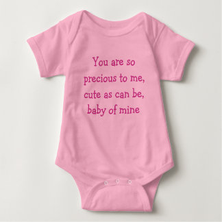 Baby of mine baby bodysuit