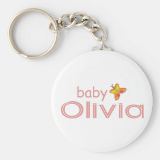 Baby Olivia Key Ring