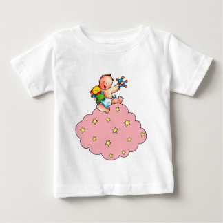 Baby on a winks Cloud with rigid Baby T-Shirt