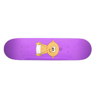 Baby on Board on Skateboard 2