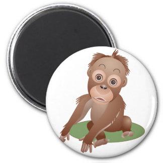 Baby Orangutan Magnet