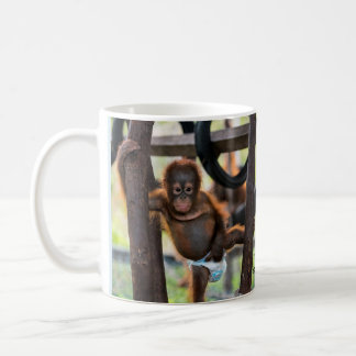 Baby Orangutan Orphan Jeffrey Junior Coffee Mug