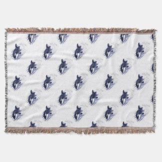 Baby Orca Jump Throw Blanket