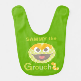 Baby Oscar Grouchy | Add Your Name Bibs