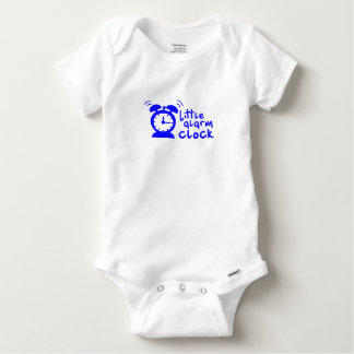 Baby outfit little alarm clock baby onesie