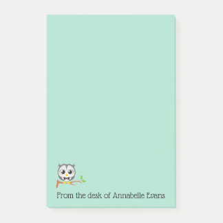 Baby Owl Post-it Notes