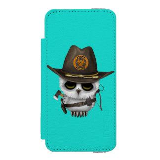 Baby Owl Zombie Hunter Incipio Watson™ iPhone 5 Wallet Case