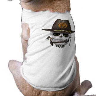 Baby Owl Zombie Hunter Shirt