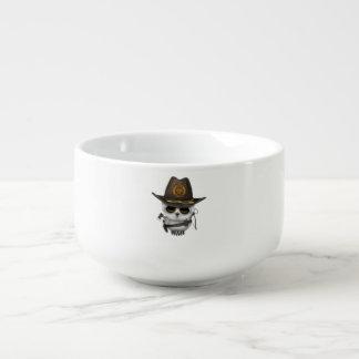 Baby Owl Zombie Hunter Soup Mug