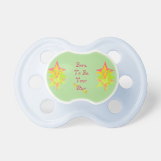 Baby Pacifier (Born To Be Your Star)