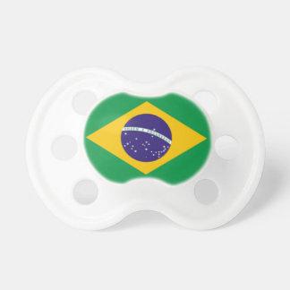 Baby Pacifier -- Brazilian Flag