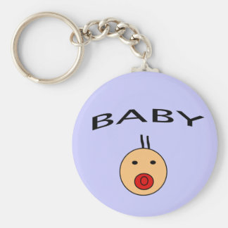 Baby Pacifier Keychain
