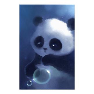 Baby Panda Bear Personalized Stationery