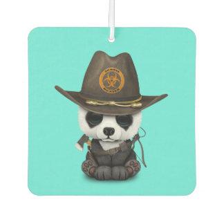 Baby Panda Bear Zombie Hunter