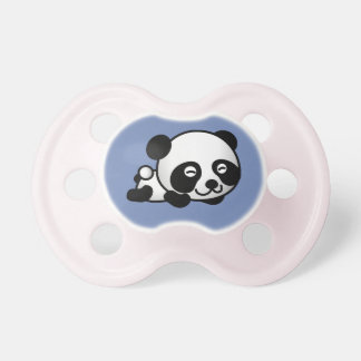 Baby Panda Binky Dummy