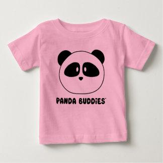Baby Panda Buddies Light Colors Baby T-Shirt