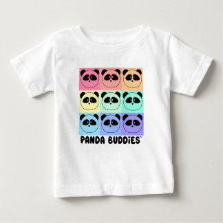Baby Panda Buddies Multi-Color T-Shirt