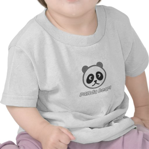 Baby Panda Cartoon Tee Shirt