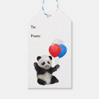 BABY PANDA GIFT TAG