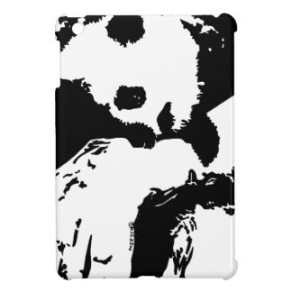 Baby Panda Hugs A Tree iPad Mini Cover