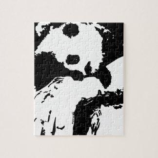 Baby Panda Hugs A Tree Jigsaw Puzzle