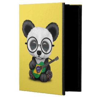 Baby Panda Playing Brazilian Flag Guitar Powis iPad Air 2 Case