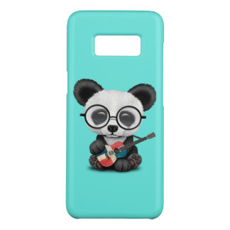 Baby Panda Playing Dominican Flag Guitar Case-Mate Samsung Galaxy S8 Case
