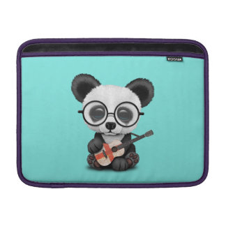 Baby Panda Playing English Flag Guitar Sleeve For MacBook Air