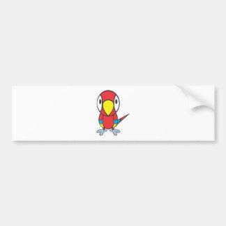 Baby Parrot Bumper Sticker
