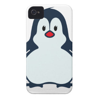 Baby Penguin Cartoon iPhone 4 Cover