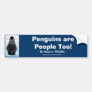 Baby Penguin Cute Wildlife Protection Auto Sticker Bumper Sticker