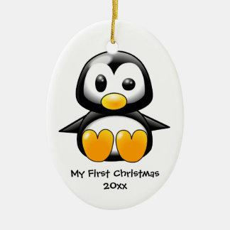 Baby penguin ornament